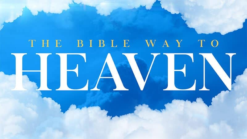 English Bible Way to Heaven