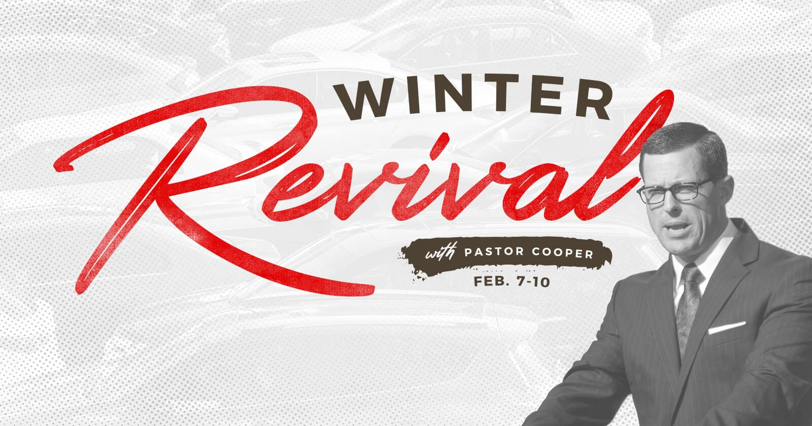 Winter Revival with Pastor Justin Cooper